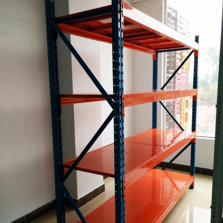 龙一货架厂家直销中型层板货架钢层板货架搁板式货架仓储层板货架