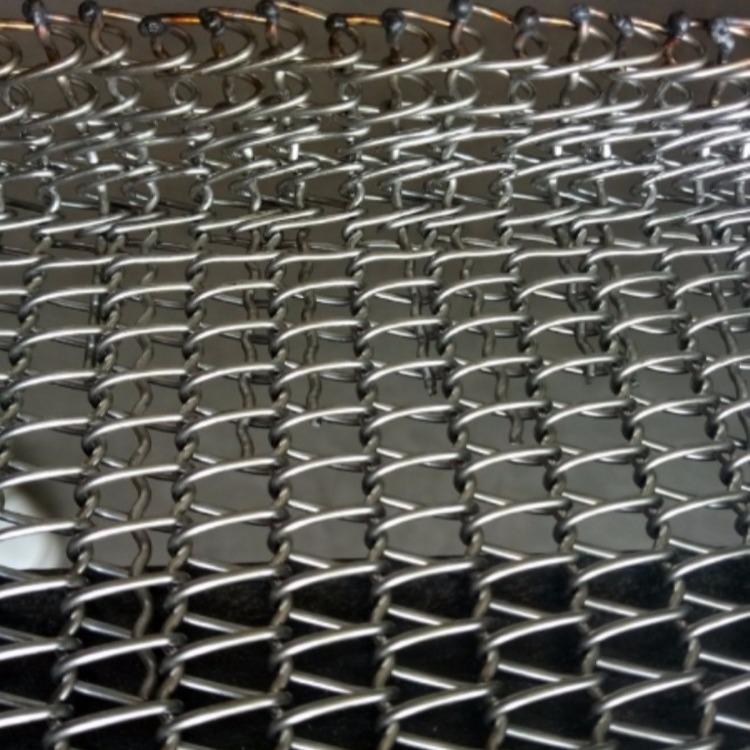 食品不锈钢网带哪家好  清洗机网带 镀锌网带