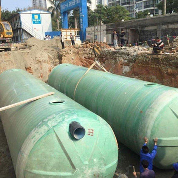 一体化粪池材质 调兵山玻璃钢水罐 整体化粪池市场价格
