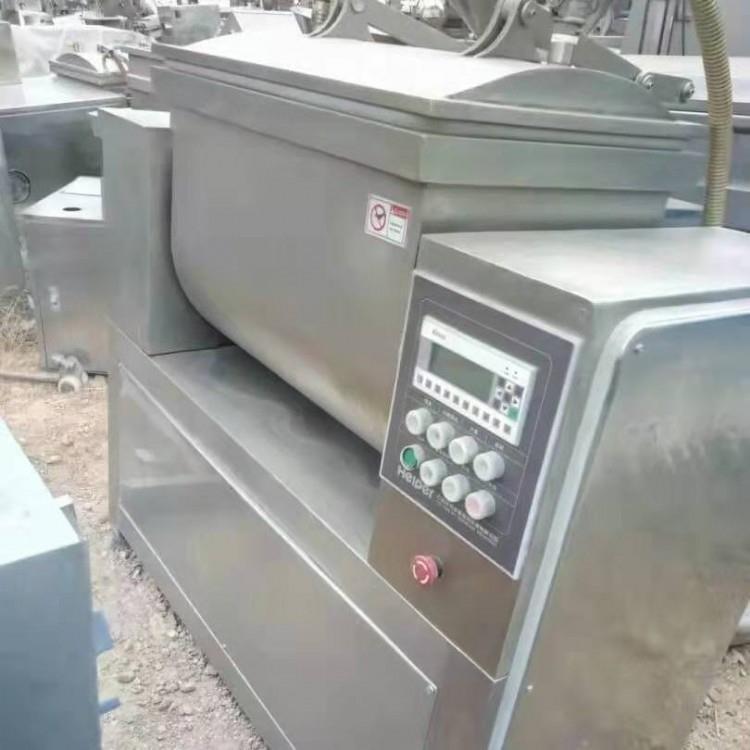 厂家供应二手拌馅机全自动大小拌馅机40-150型真空拌馅机