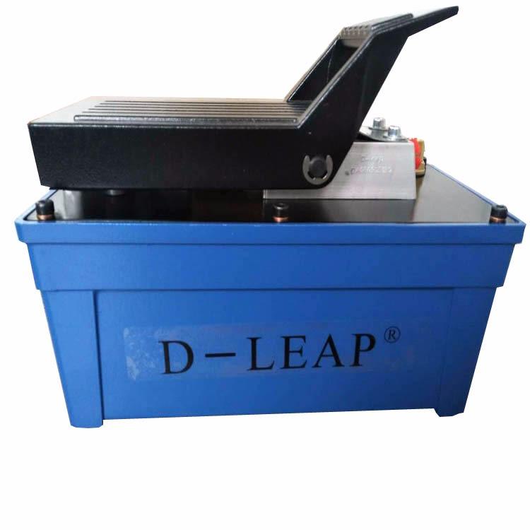 出口气动液压泵 蓝色铝壳脚踏液压泵 一件代发