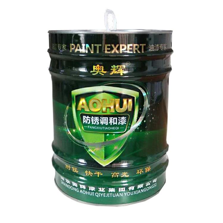 醇酸防锈漆厂家供货颜色中灰、铁红、红丹