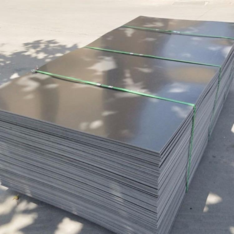 岳特橡塑厂家生产 pvc塑料板 黑色pvc塑料板 白色pvc塑料板