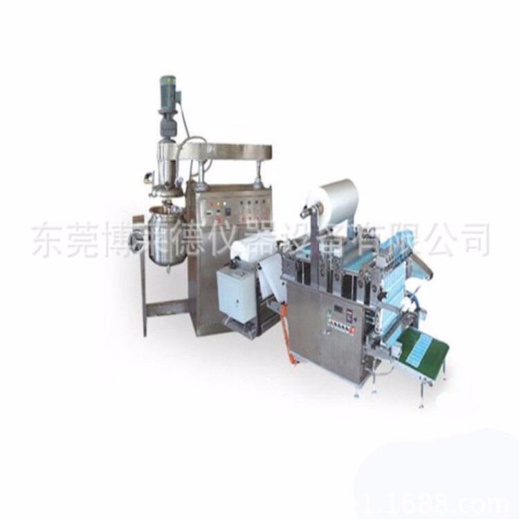 无纺布巴布贴生产设备无纺布巴布贴生产机械巴布膏贴生产机