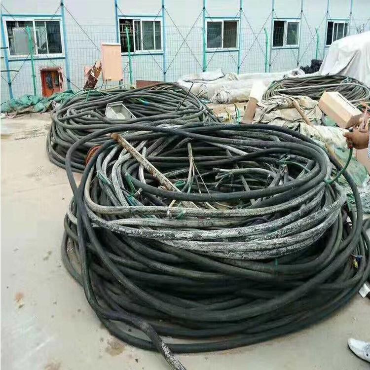 低压电缆回收,荣康高价回收电缆