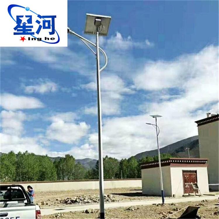 武汉新农村太阳能路灯厂家直销 武汉星河牌LED路灯价格表 武汉太阳能路灯价格