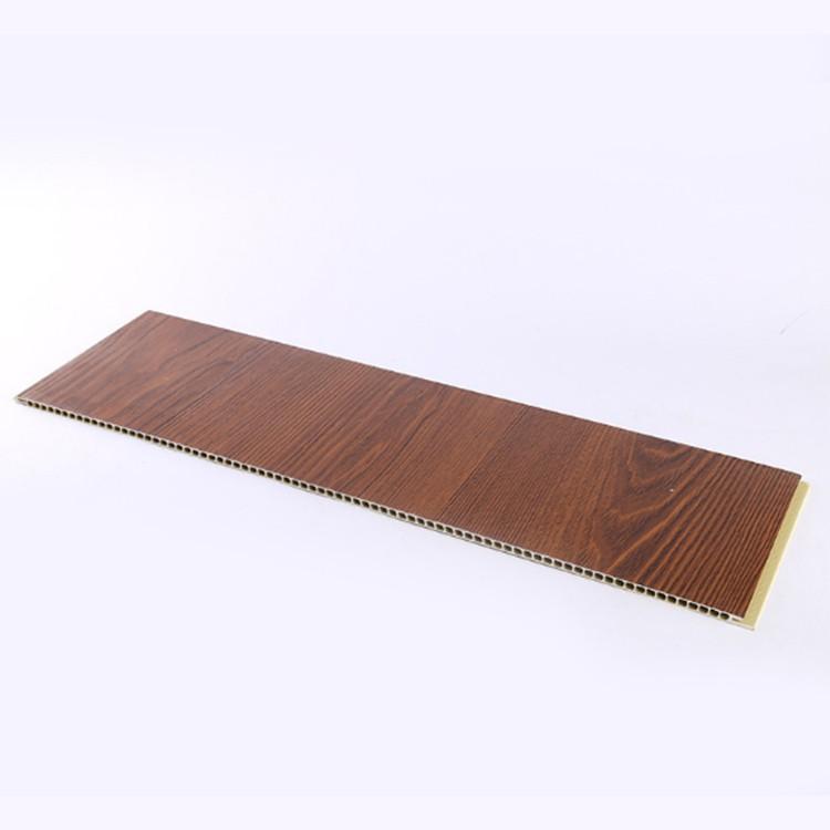 濉溪竹木纤维集成墙板吊顶装饰材料 厂家供应生态木墙板