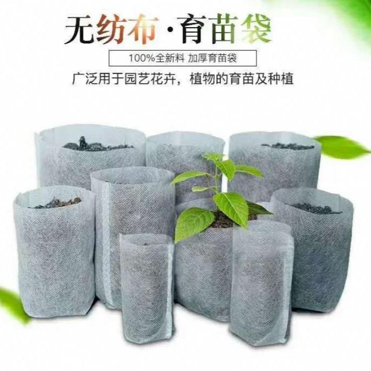 定做苗圃无纺布植树袋 美植袋 育苗袋 树苗移植袋 阳台绿色植物种植袋
