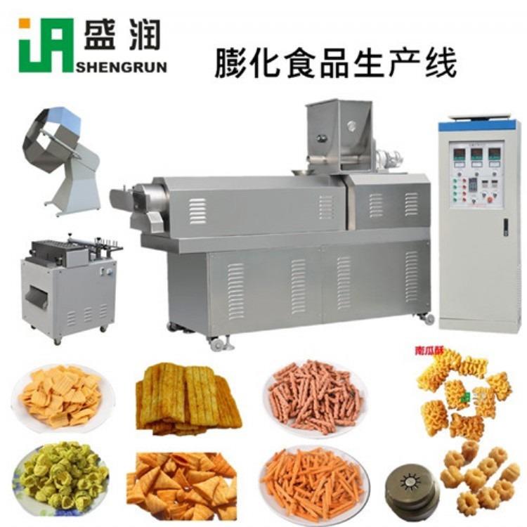 休闲食品妙脆角生产线 济南盛润机械有限公司