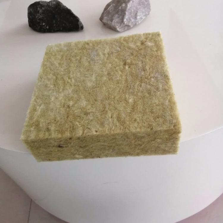 外墙岩棉板 岩棉纤维屋顶憎水型岩棉板 高密度憎水岩棉板