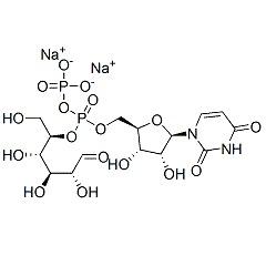 尿苷-5-二磷酸葡萄糖钠盐(UDPG) 25mg CAS:28053-08-9