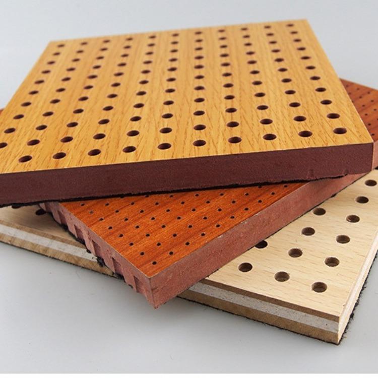 吸声孔板 木质吸音板安装工艺 木质吸音板材质