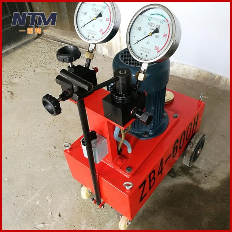 桥梁油泵油泵张拉机液压千斤顶油泵自动张拉油泵