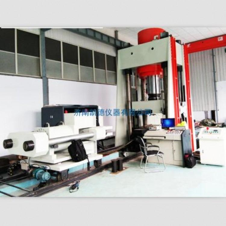 凯德仪器  电液伺服动态压剪试验机 压剪试验机 YAW-J5000-100000D