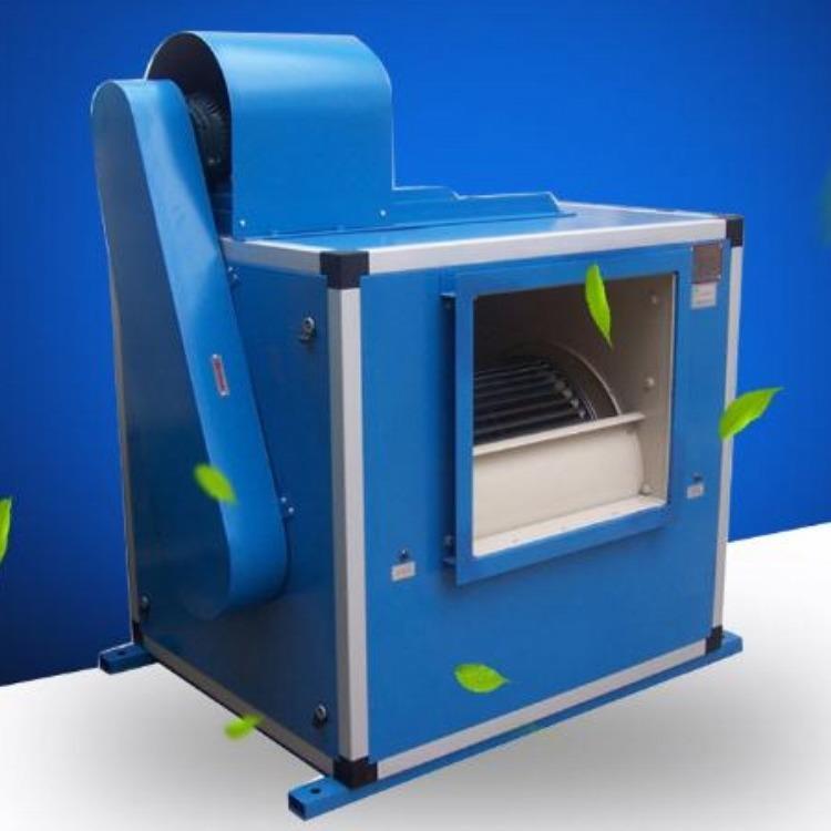 定制加工 低噪声风机箱 3C消防排烟风机箱 双速排烟风机箱生产厂家