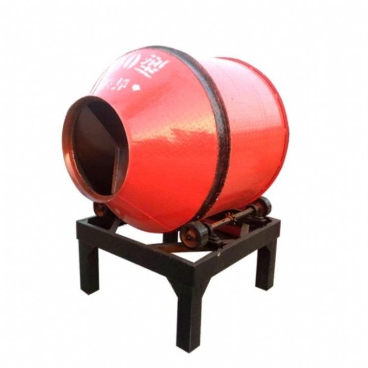 加厚型砂浆滚筒搅拌机 永宏顺 小型民用滚筒搅拌机 摩擦式滚筒搅拌机