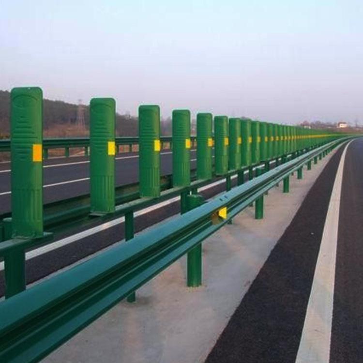 波形护栏 牛角护栏 高速公路防撞护栏板 W锌钢护栏 路侧护栏