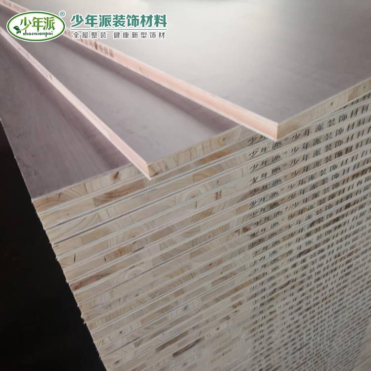 生态板价格 实木多层生态板厂家直销 量大优惠 可定制 少年派生态板