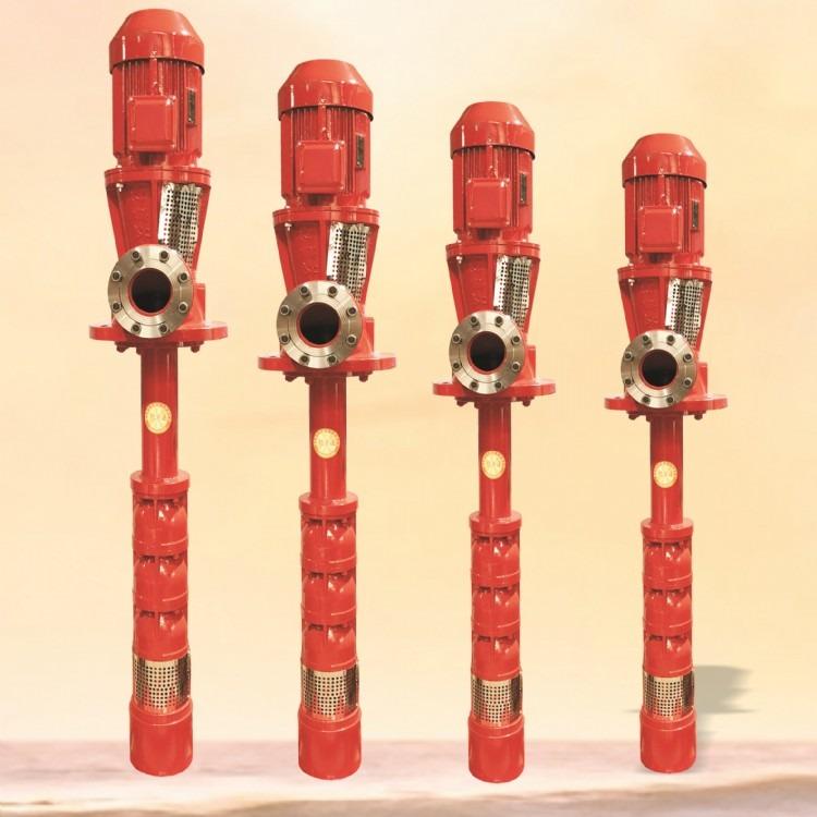 深井消防泵,深井长轴消防泵,深井电动消防泵,CCCF认证深井消防泵,AB标签二维码