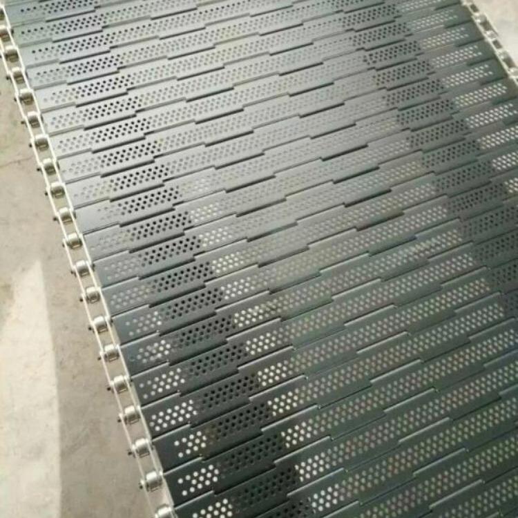 厂家加工定做 不锈钢链板 挡板式耐高温链板传动件传动链
