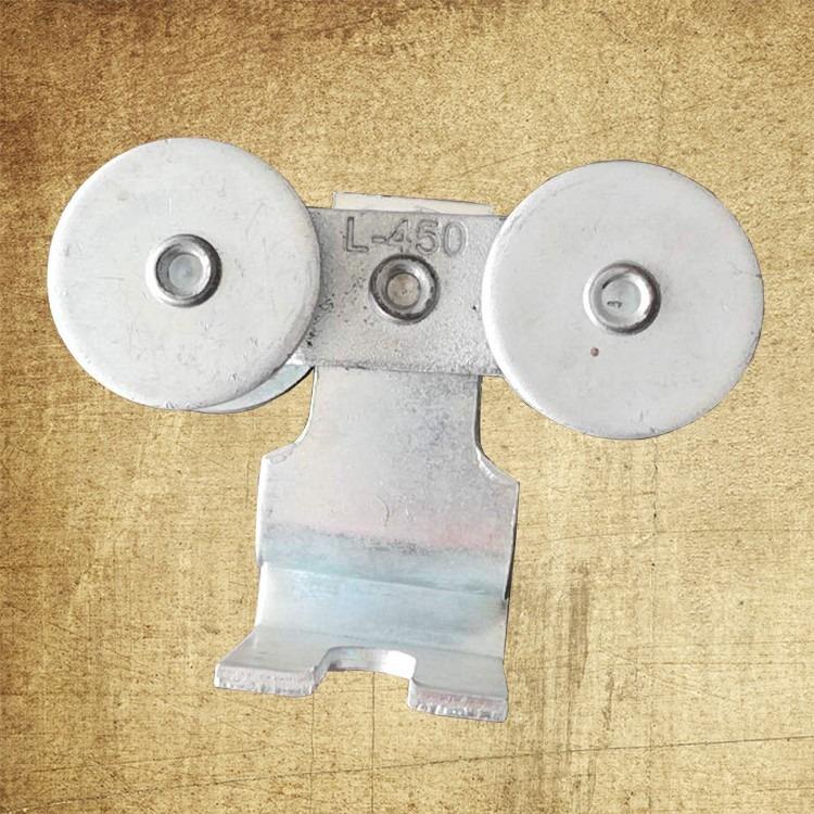 厂家直销吊轮 加厚耐磨含轴承吊轨通用 吊轮