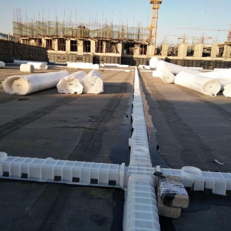 山东久邦车库顶板雨水收集虹吸排水系统 北京虹吸排水复合排水板生产厂家