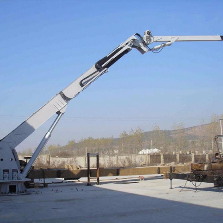 装鱼船用吊机   船用吊机图片     船用甲板吊机 质量保证