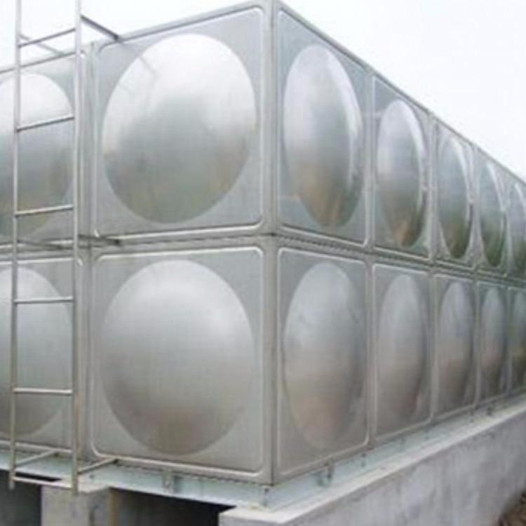 不锈钢水箱304方形泵房消防水箱 大型组合式箱泵一体生活冷水箱
