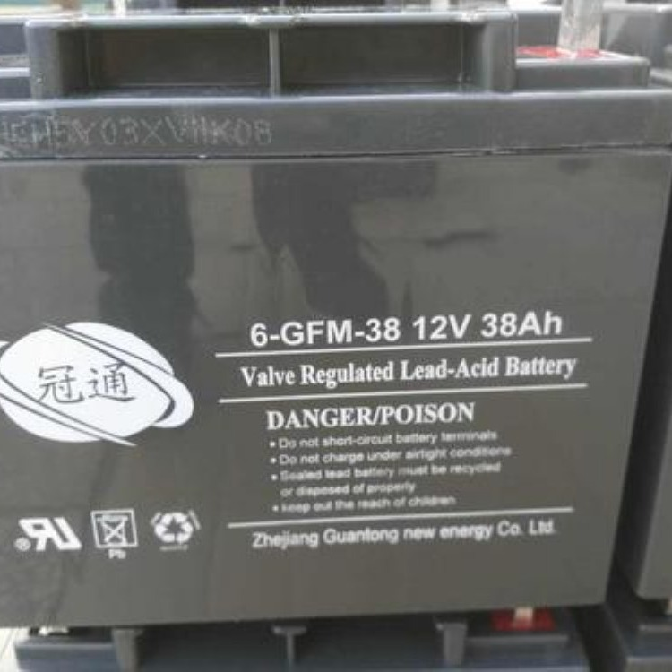冠通蓄电池6-GFM-20012V200AH报价
