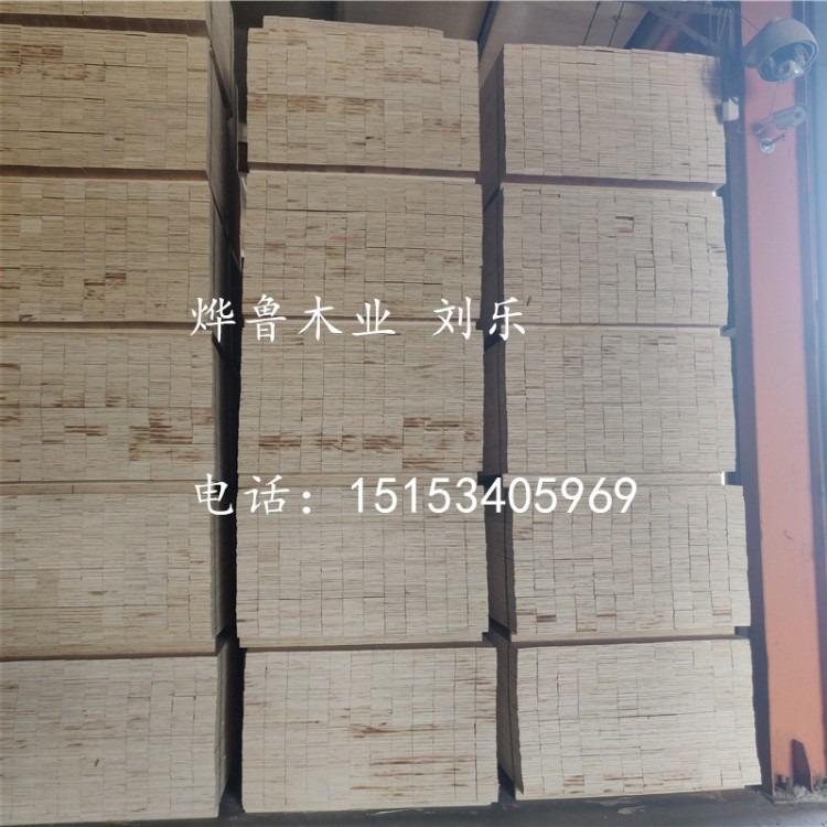 玻璃、机械包装用的免熏蒸LVL木方