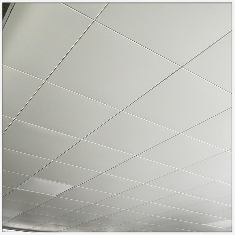 广东佛山厂家批发600x600工程铝扣板吊顶0.6mm厚隔音铝天花