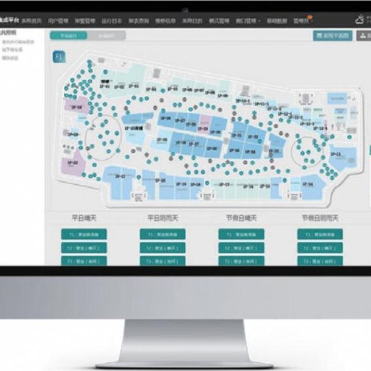 阿尔尤特 AT-SGMS 空气质量系统图形监测软件 空气监测系统图形软件 图形监控软件