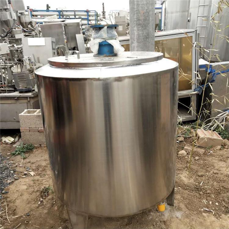 转让不锈钢立式搅拌罐1吨不锈钢搅拌罐食品搅拌罐
