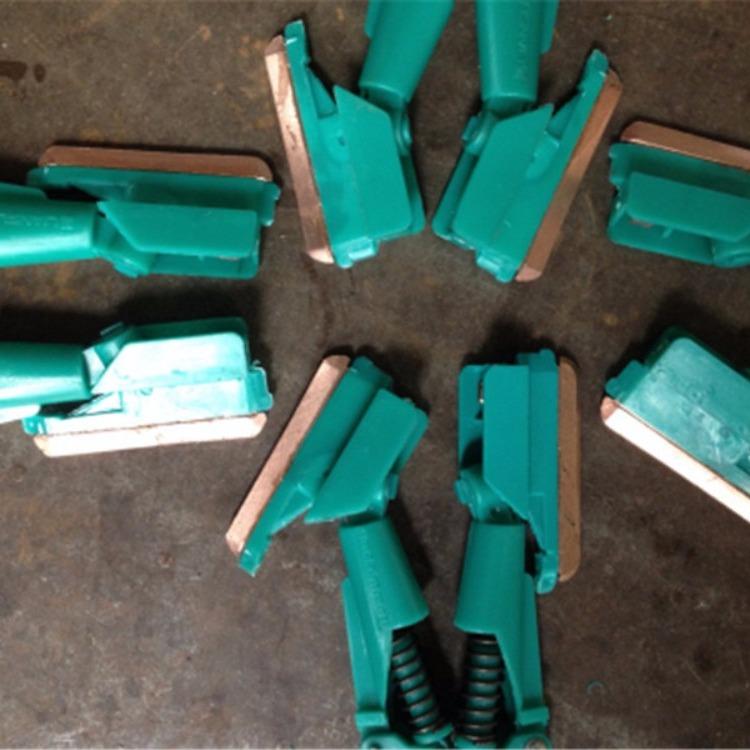 C型柔性一体生产流水线专用滑触线集电器,50AC型单杆双头集电器