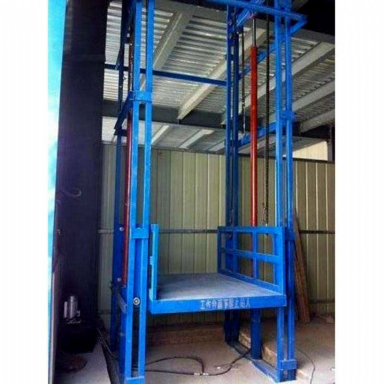 大久机械生产导轨式货梯升降机运输机