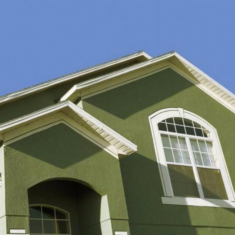 室外乳胶漆 砖石建筑水性丙烯酸漆白色