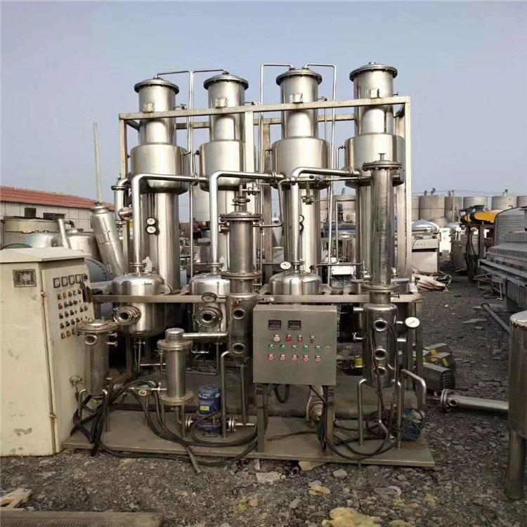 低价销售二手蒸发器 二手降膜蒸发器价格 二手双效蒸发器价格  浓缩蒸发器价格