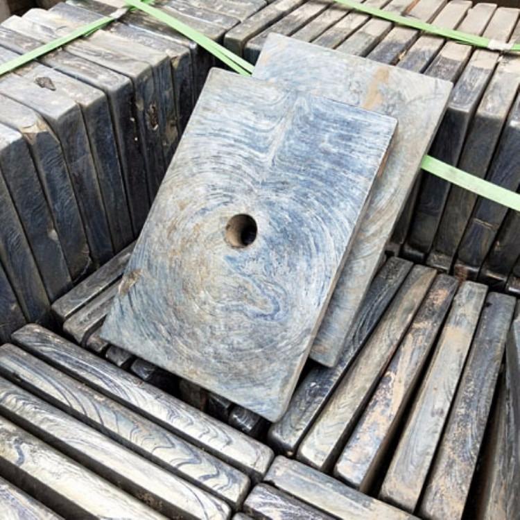 铸石板 卸煤沟耐磨铸石板 内衬板微晶铸石板 岳特