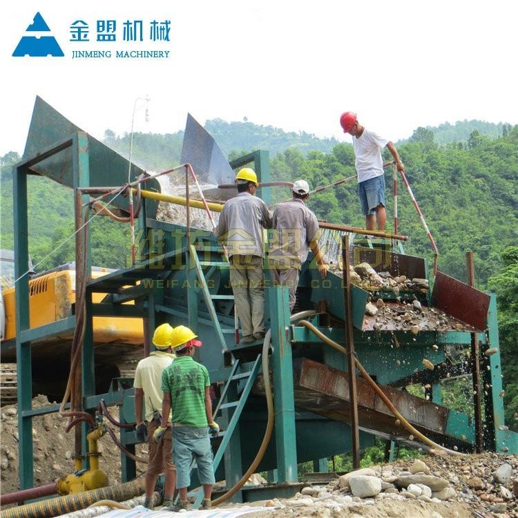 大型选金机械设备 大型淘金选矿设备厂家地址