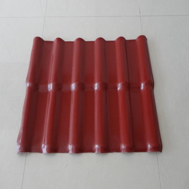 大量销售 塑料建材树脂瓦 防火合成树脂瓦 屋顶装饰树脂波纹瓦