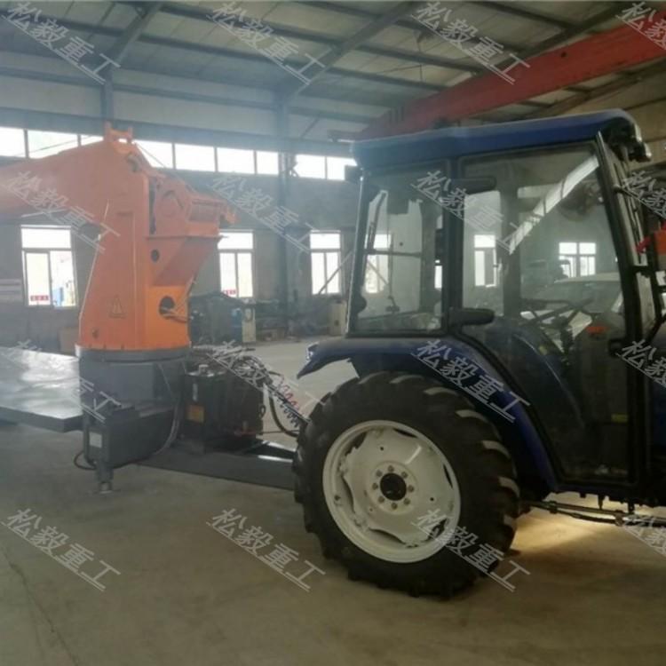 拖拉机吊车价格及图片 新型拖拉机吊车图片 安徽淮北拖拉机吊车安装图片