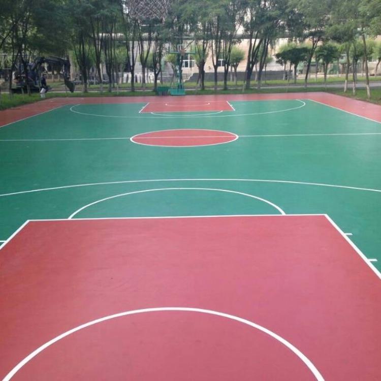 营口市塑胶篮球场施工,丙烯酸球场,硅pu球场,pvc场地,人造草坪铺设!