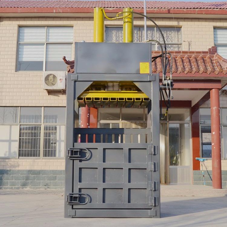 瑞轩机械 矿泉水瓶大型液压打包机 矿泉水瓶自动翻包�R包机 瓶子自动立式大型打包机