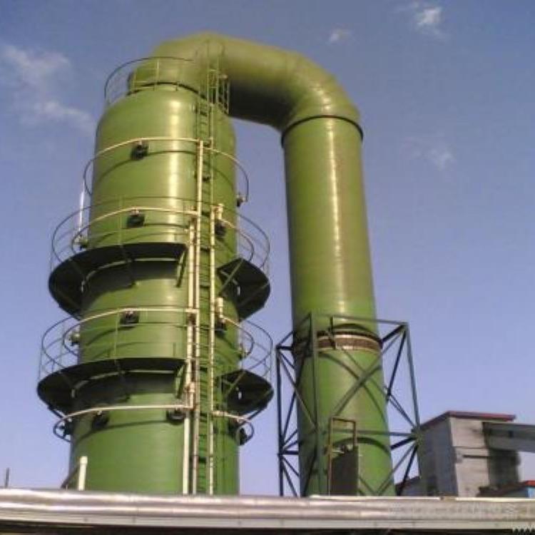 脱硫塔工作原理,废气脱硫