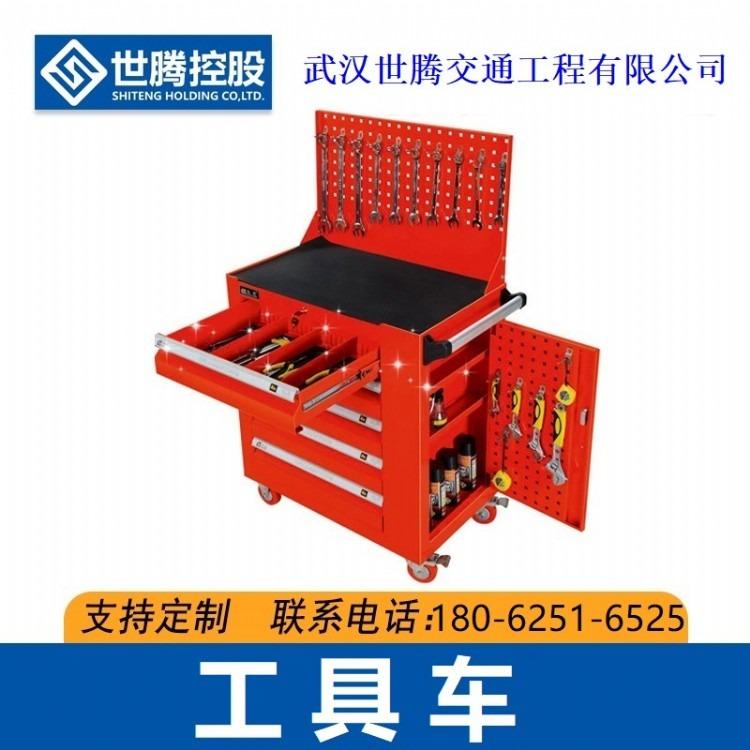 重型工具柜 上海市加厚工具车移动储物工地工厂车间五金铁皮多功能小推车厂家直销