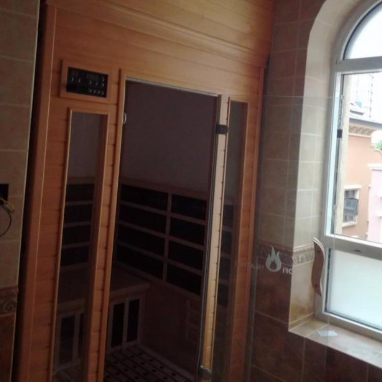惠州家用小型移动汗蒸房安装完工案例