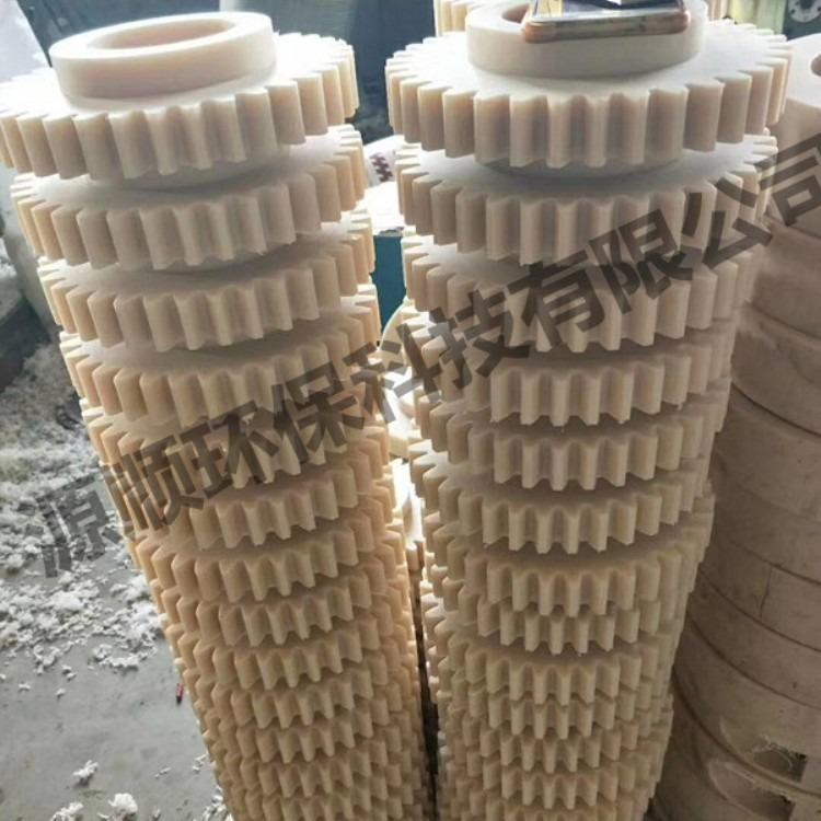 加工各种型号尼龙板PA66尼龙板 mc米黄色尼龙板耐磨韧性尼龙棒管