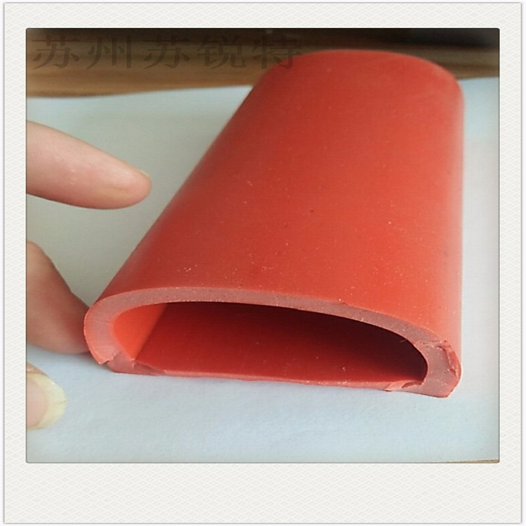 O型发泡硅胶密封条红色硅胶大口径发泡管
