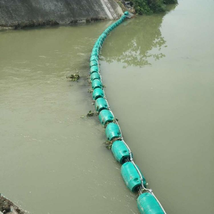 串连整体式浮筒定制 拦污塑料浮排生产定制