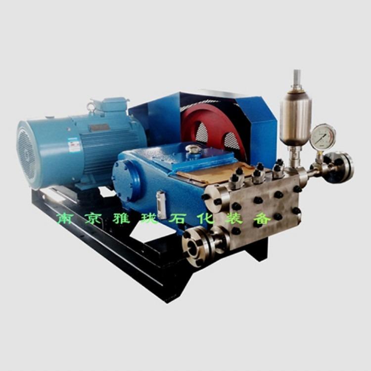 南京雅珑供应3W60高压泵柱塞泵 电动高压泵 卧式高压泵厂家直销